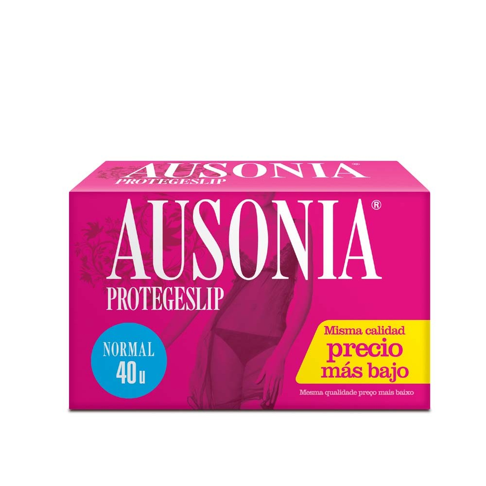 Ausonia protege slips lingerie normal 40 en caja