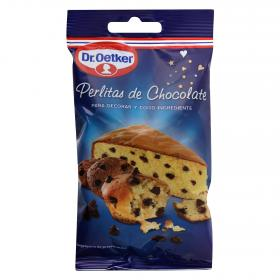 Dr Oetker perlitas chocolate decorar como ingrediente estuche de 100g.