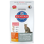 Hill's Science plan sterilised cat alimento especial gatos esterilizados con pollo de 8kg. en bolsa