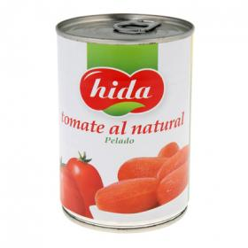 Hida tomate al natural entero de 240g.