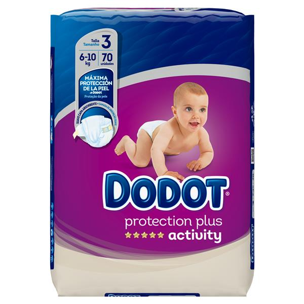 Dodot Activity dodot protecton plus activity talla 3 6-10kg 3x70 70