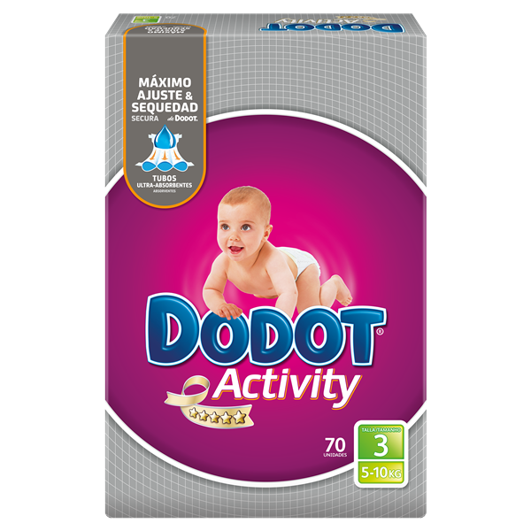 Dodot Activity pañal t 3 70