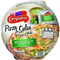 Campofrio pizza mozzarella pesto de 370g.