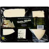 Millán Vicente tabla queso surtido mixto de 250g.