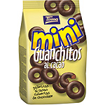 Tirma mini guanchitos galletitas al cacao cubiertas chocolate de 125g. en bolsa