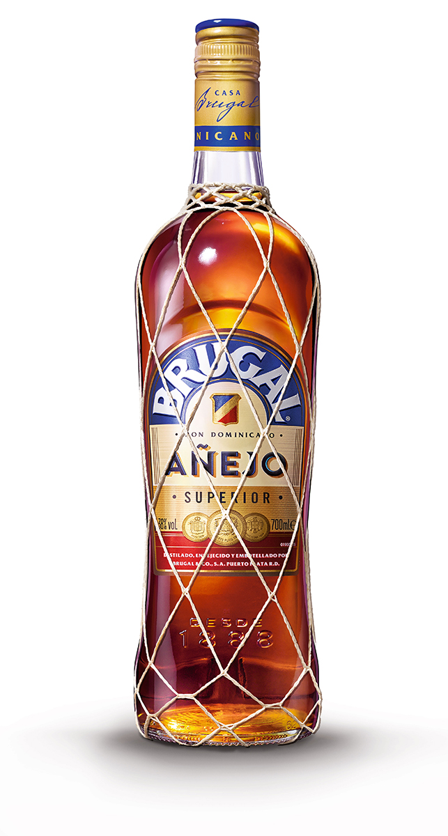 Brugal añejo dominicano de 70cl. en botella