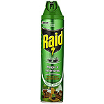 Raid insecticida hogar interiores frescor natural de 60cl. en spray