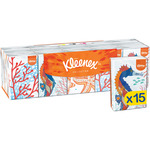 Kleenex pañuelo mini collection por 15 unidades