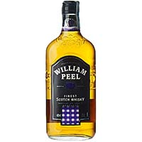 William Peel whisky black de 70cl.