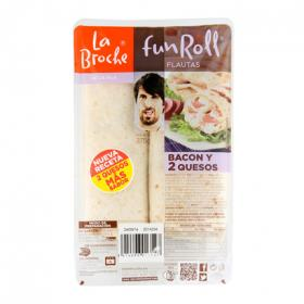 La Broche flauta bacon queso de 235g.