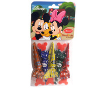 Disney parasoles chocolate mauri por 5 unidades