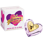 Agatha Ruiz De La Prada love forever eau toilette femenina natural de 50ml. en spray