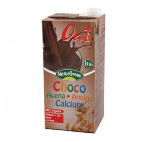 Naturgreen bebida avena chocolate calcio de 1l.