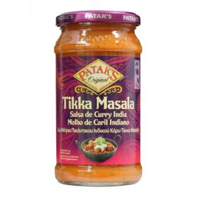 Pataks salsa curry india tikka masala de 350g.