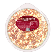 Pizza de barbacoa party de 330g.