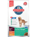 Hill's Science plan perfect weight alimento especial perro adulto raza grande con pollo de 12kg. en bolsa