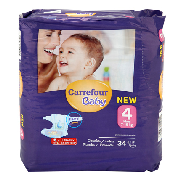 Carrefour Baby pañal t 4 maxi 34