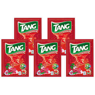 Tang refresco sabor tropical pack x5 5 ud