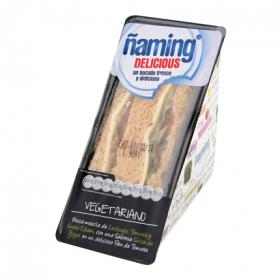 Naming sandwich delicious vegetariano ñaming de 190g.