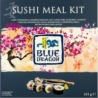 Blue Dragon sushi kit de 315g. en paquete