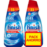 Finish todo en 1 plus lavavajillas gel regular 66