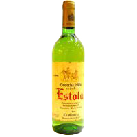 Estola vino blanco de 75cl. en botella