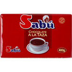 Sabu perfeccion chocolate taza tableta de 400g.