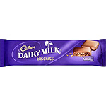 Cadbury dairy milk galletas con chocolate de 110g. en paquete