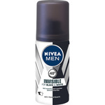 Nivea Men hombre desodorante black & white invisible power antimanchas tamaño viaje de 35ml. en spray