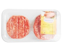 Montesano burger meat ternera hamburguesa de 360g.