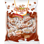Korovka wafers sabor chocolate de 250g. en paquete