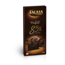 Lacasa chocolate negro 85 % cacao tableta de 150g.