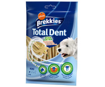 Brekkies snack dental perros talla mini excel total dent affinity de 110g.