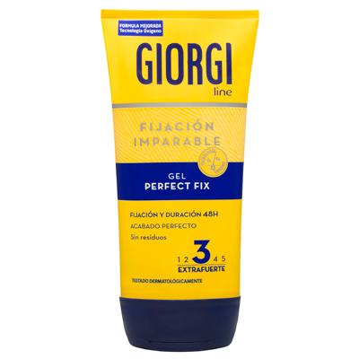 Giorgi gel fijador extrafuerte mini de 50ml.