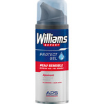 Williams espuma afeitar piel sensible de 20cl.