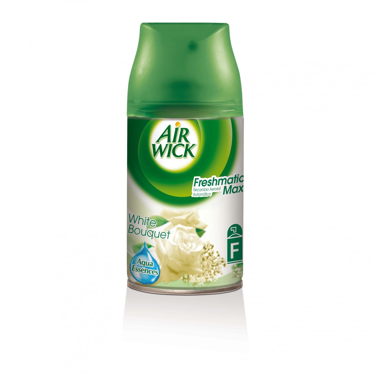 Air Wick fresh matic max ambientador automatico white bouquet recambio