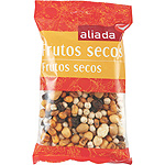 Aliada coctel frutos secos party mix de 150g. en bolsa