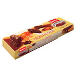 Loacker galleta chocolate noir orange de 100g.