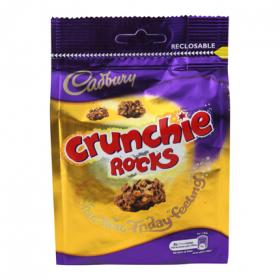 Cadbury chocolate crunchie rocks de 130g.