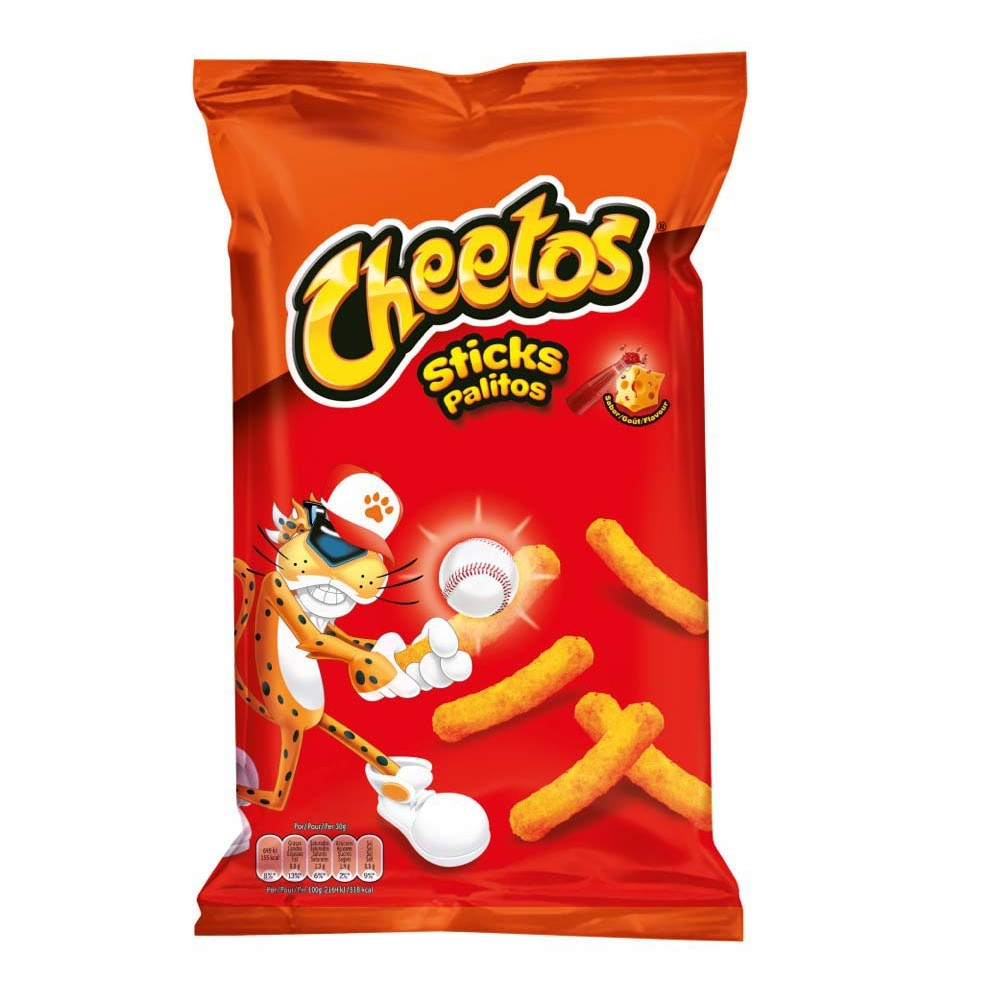 Cheetos sticks de 96g.