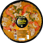 Royal chef paella mixta familiar envase de 1kg.