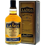 Langs whisky premiun escocés 12 años de 70cl. en botella