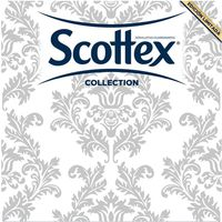 Scottex servilleta doble capa collection 100 en paquete