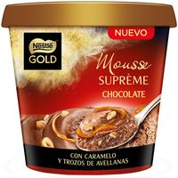 Nestlé Gold mousse supreme chocolate de 170g.