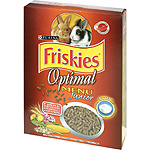 Friskies optimal menu alimento completo conejos junior estuche de 600g.
