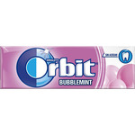 Orbit chicle bubblemint sabor fresa menta sin azucar