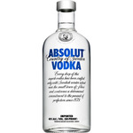 Absolut vodka azul de 1l. en botella