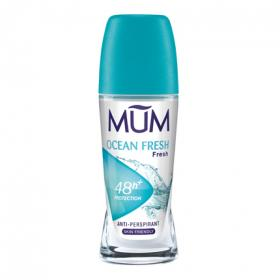 Mum desodorante roll on ocean breeze envase de 50ml.