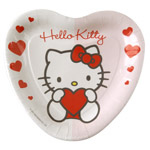 Hello Kitty platos 23 cm 8 en carton