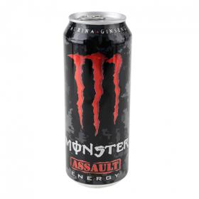Monster refresco energetico assault de 50cl.